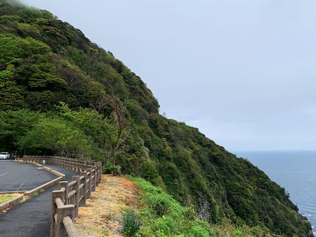 駐車場から経ヶ岬灯台