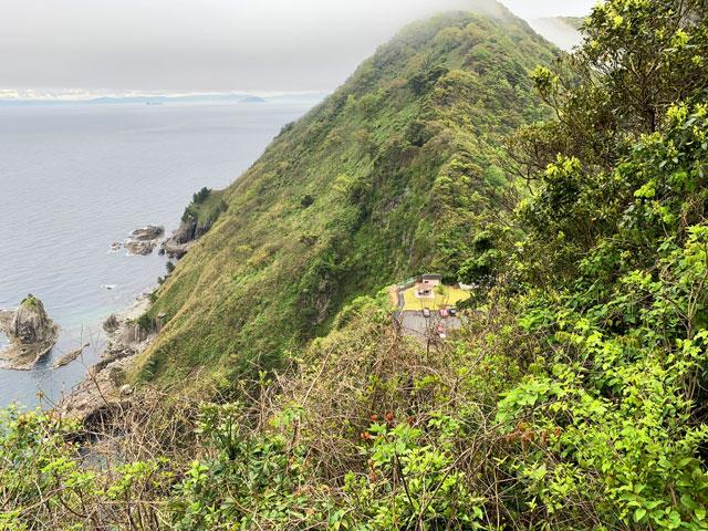 経ヶ岬遊歩道からの眺め