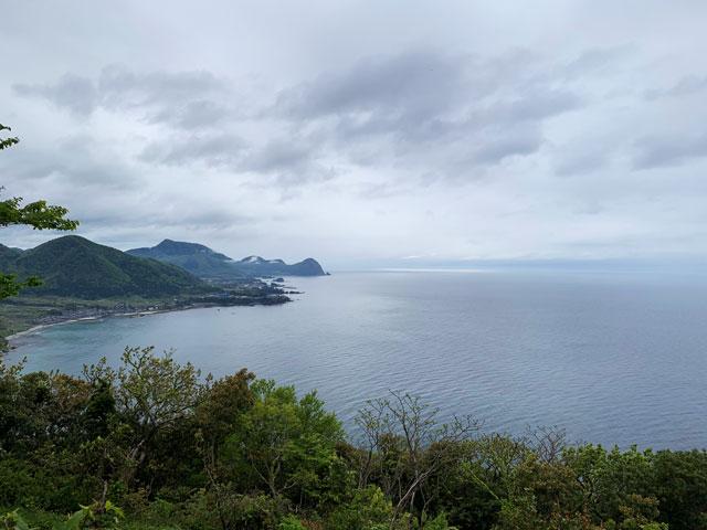 経ヶ岬展望台からの眺めその1