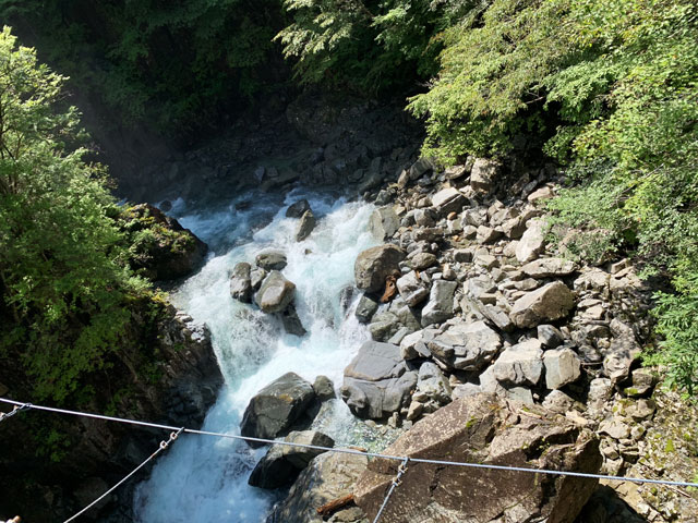 仙樽の橋からの眺め