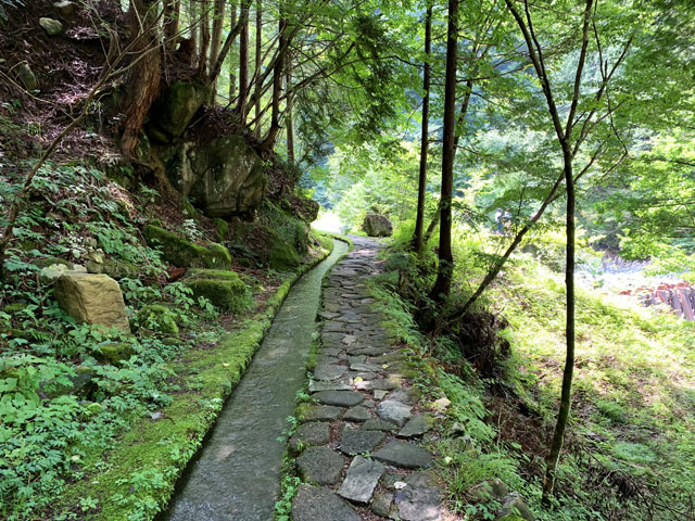 付知峡 石道2