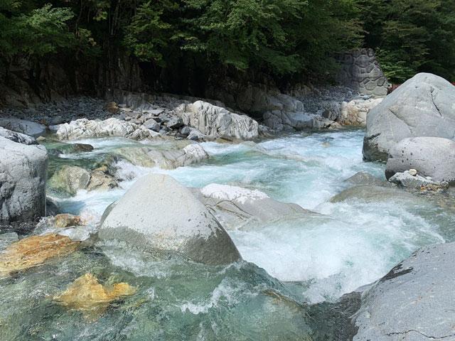 付知川 水