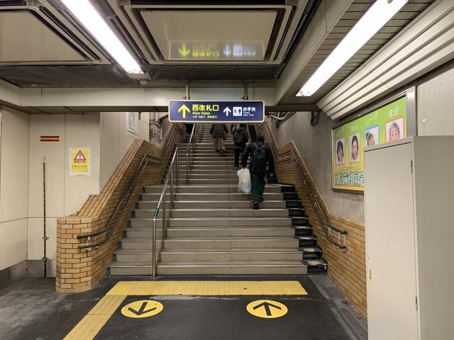 阪急西院駅 西口