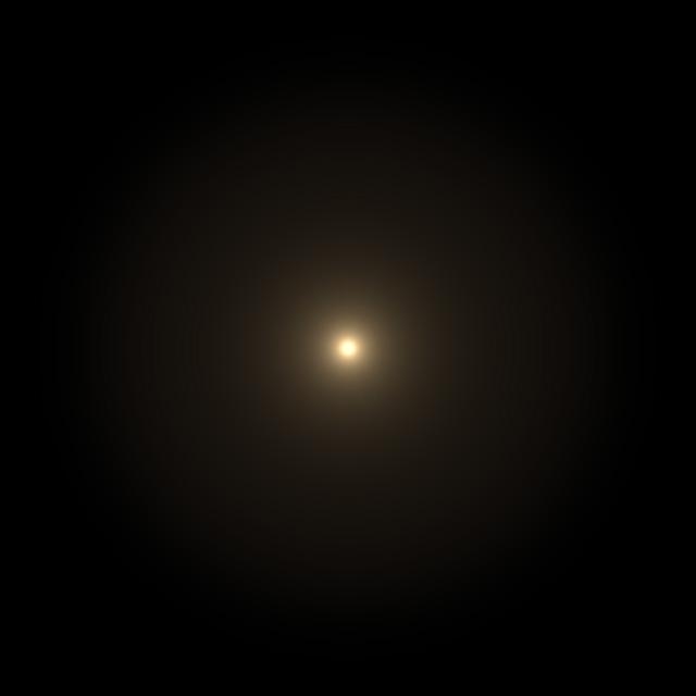 OpticalFlares 中央に光