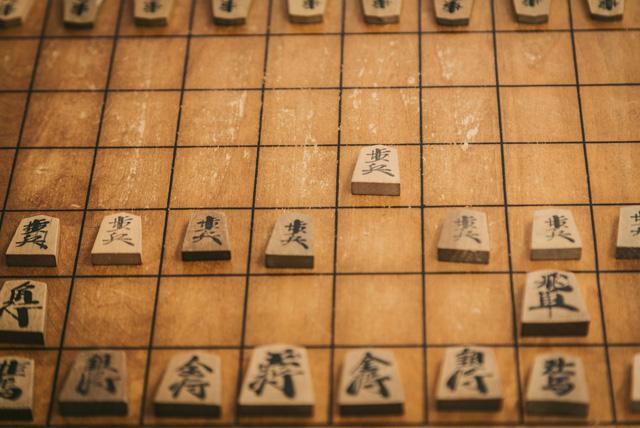 古い将棋盤