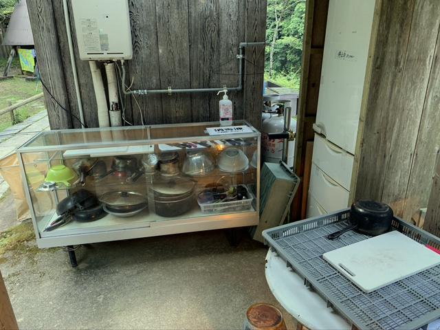 小又川バンガロー 食器