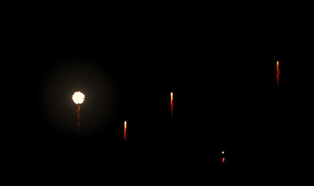 花火をセッティング