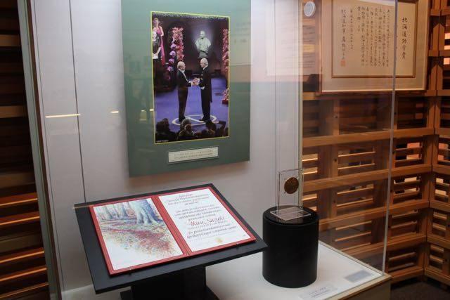 北海道大学総合博物館 ノーベル賞メダル