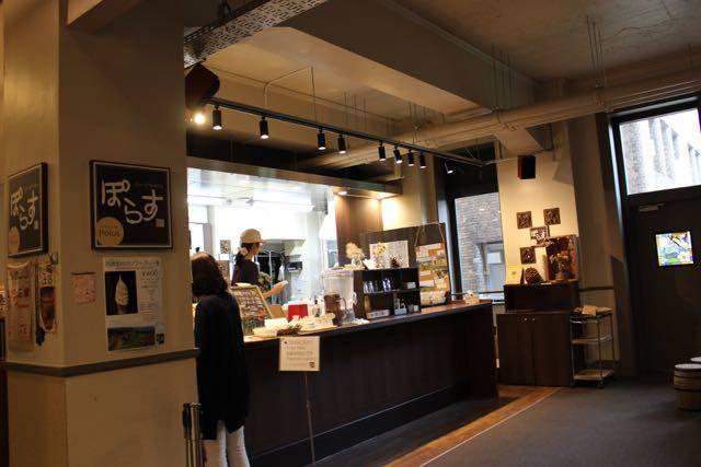北大博物館カフェ ポラス