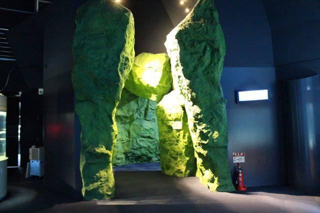 サケのふるさと千歳水族館 トンネル