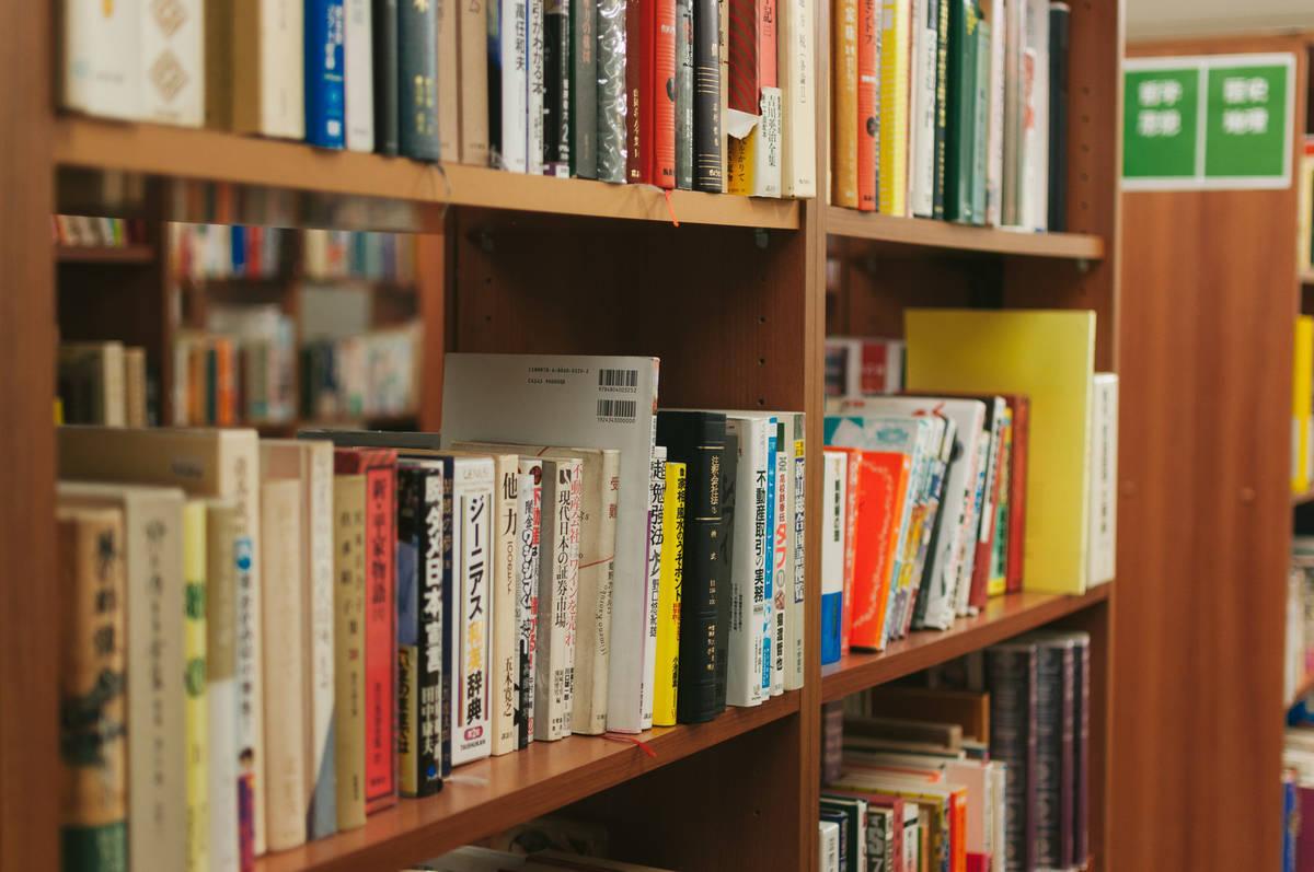 中学生の塾の選び方 書棚