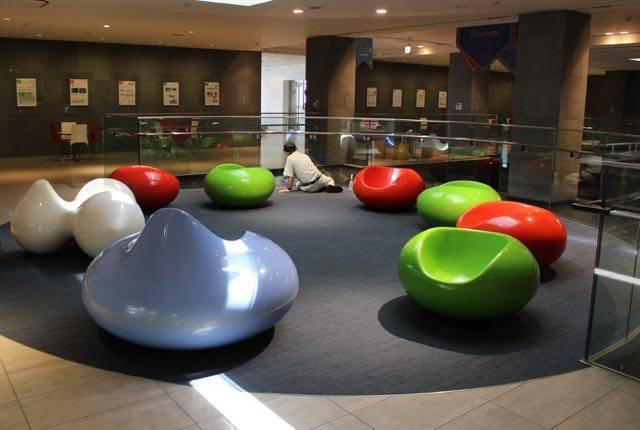 札幌市水道記念館 椅子
