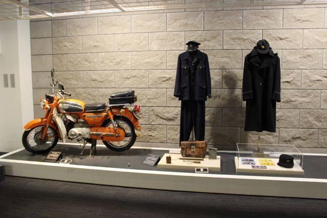札幌市水道記念館 バイク