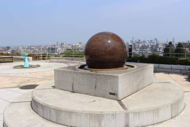 札幌市水道記念館 グラニットボール