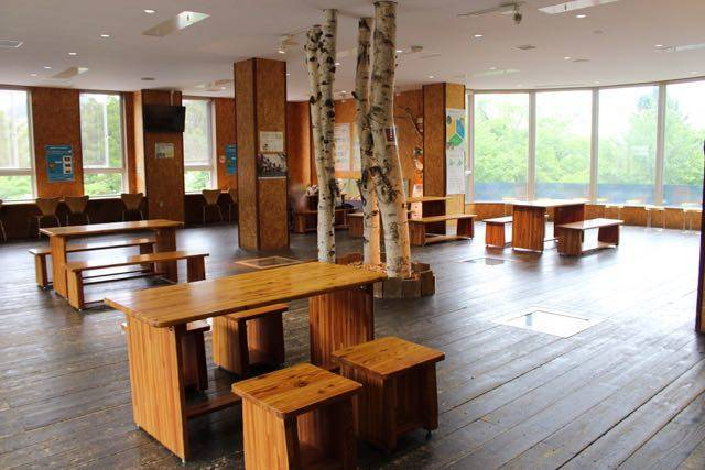 円山動物園 休憩所2