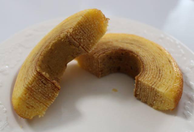 発酵バターのふんわりバウム