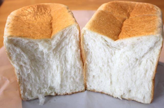 食パン半分