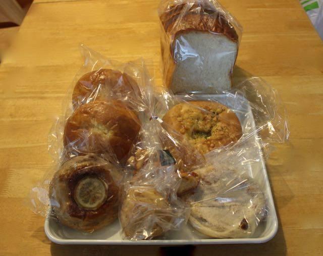 ヴェールクレール 購入したパン
