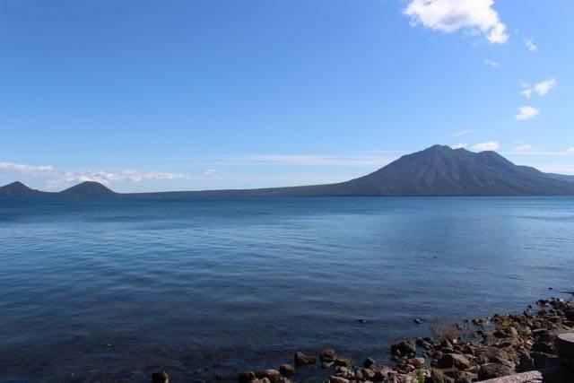 支笏湖の景色