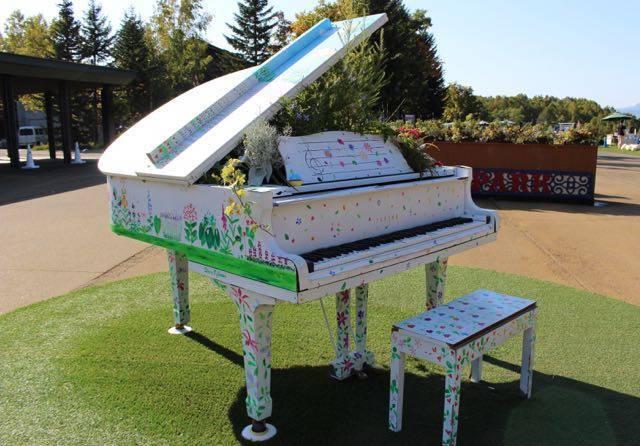ガーデンピアノ