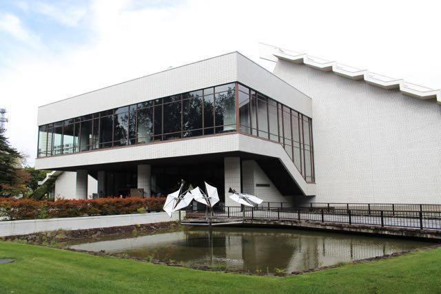 北海道立近代美術館 外観