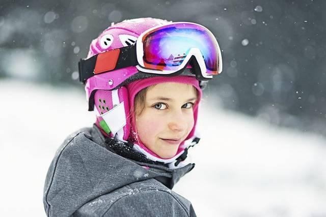 スキースクール 女の子