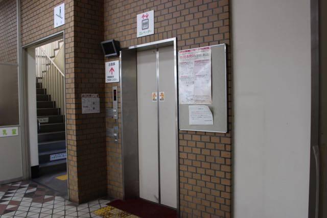 南区役所 エレベーター