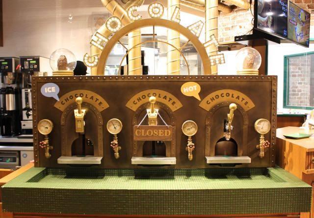イシヤカフェ チョコレートサーバー