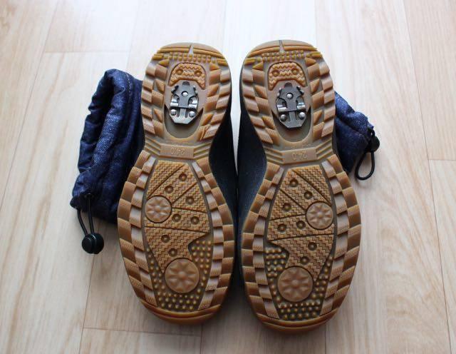 冬靴の靴底
