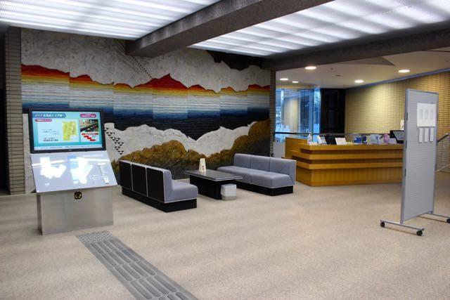 北海道立文学館 1階ロビー