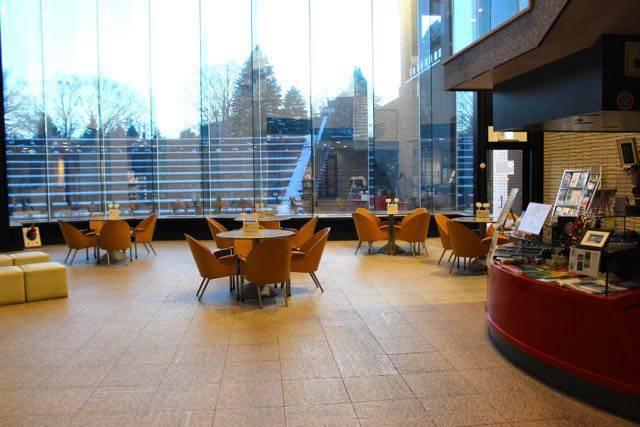 北海道立文学館 カフェスペース