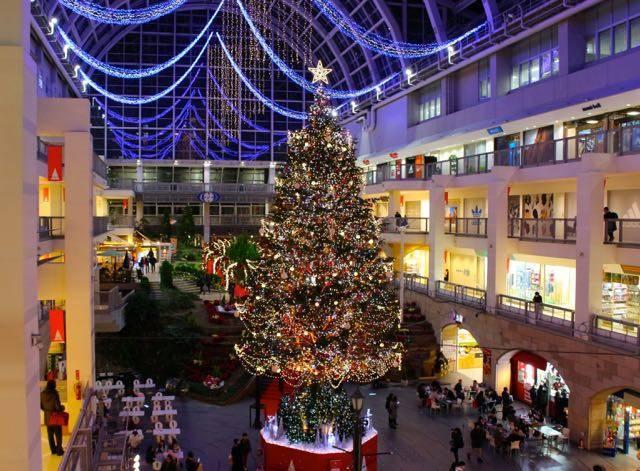 サッポロファクトリー クリスマスツリー