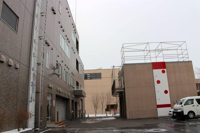 札幌市民防災センター 駐車場