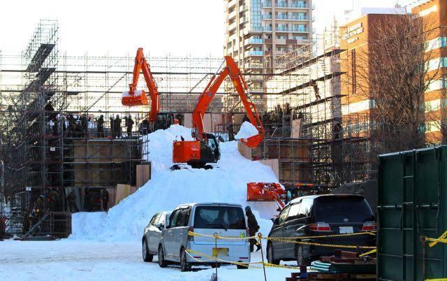 さっぽろ雪まつり 8丁目