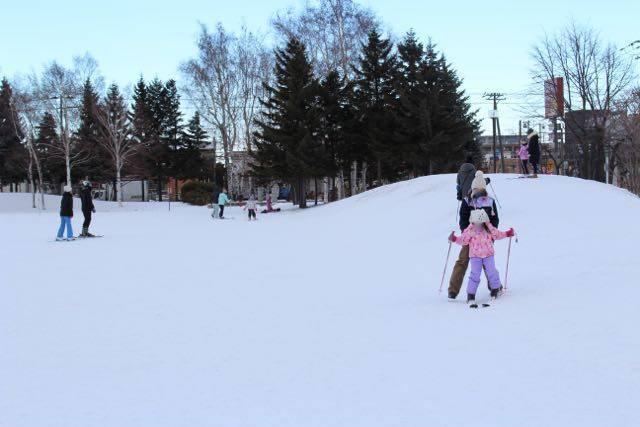 農試公園 スキースロープ