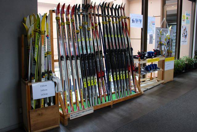 農試公園 歩くスキーレンタル