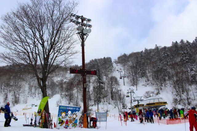 札幌国際スキー場 リフト