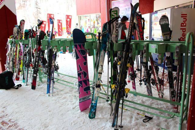 札幌国際スキー場 スキーロック