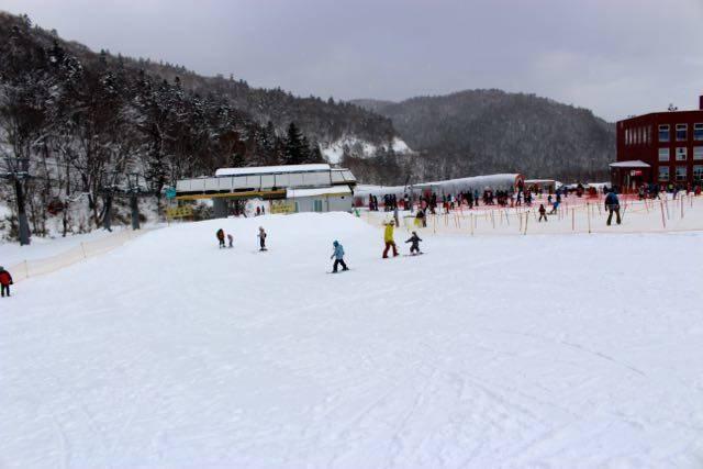 札幌国際スキー場 初心者エリア
