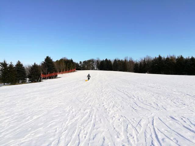 川下公園 スキースロープ