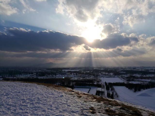 モエレ山山頂