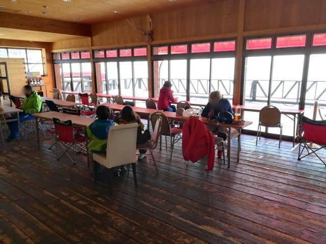 さっぽろばんけいスキー場 無料休憩所