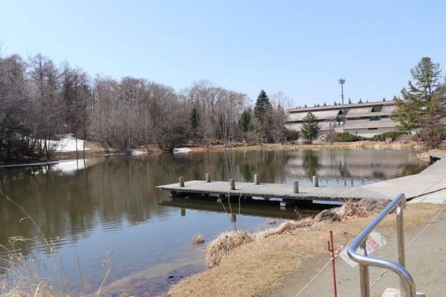 緑ヶ丘公園 ボート池