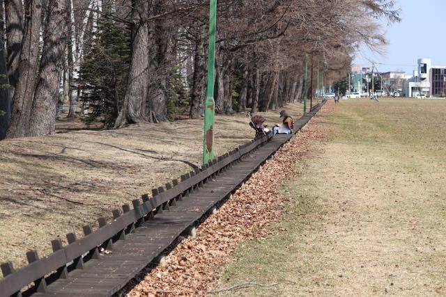 緑ヶ丘公園 ベンチ