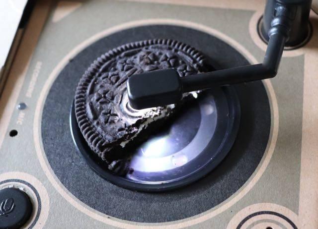 オレオミュージックボックス ターンテーブル