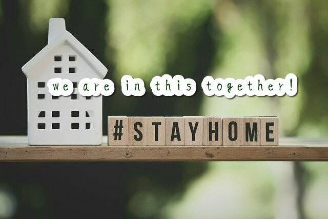 stay home