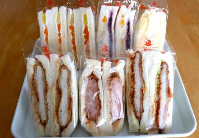 サンドリアのサンドイッチ