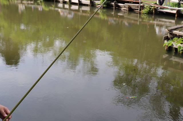 ばんけい釣り堀 池