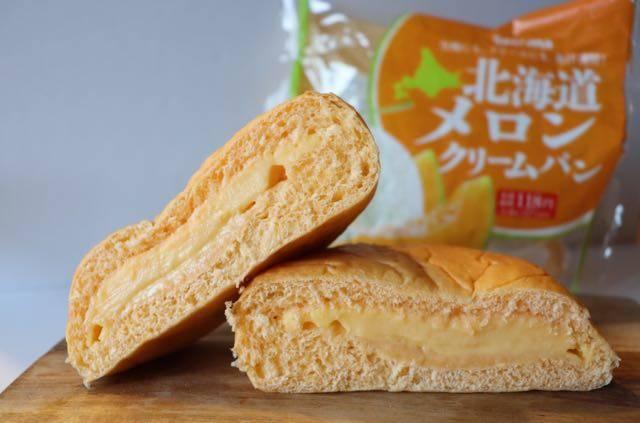 セイコーマート メロンクリームパン
