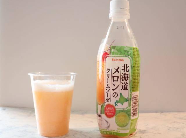 セイコーマート 北海道産メロンクリームソーダ